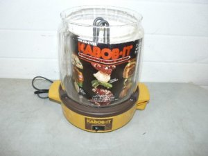 KABOB-IT ELECTRIC SHISH KABOB ROTISSERIE BROILER EC