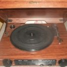 Memorex Unique Record Player 33/45/78 Compact Phonograph Am/FM Stereo Radio