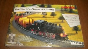 RARE MARKLIN # 29186 HO SCALE HIGH END TRAIN SET LN w Bonus Planning Game 02409