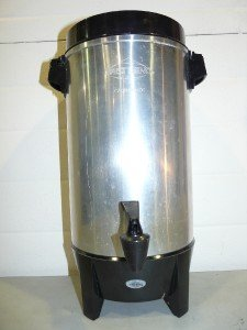 West Bend 42 Cup Coffee Perculator Brewing Urn Nice