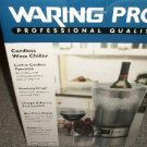 NEW Waring Pro Professional Cordless Wine Chiller PC50