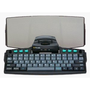 "NEW LandWare Palm ""Go Type"" Portable Keyboard with Software NIB"
