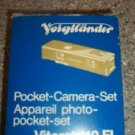 NEW Voigtlander Vitoret 110 EL Collectable FIND Pocket Camera Set w Flash Unit