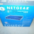NEW NETGEAR FVS318 ProSafe VPN Firewall 8 Port 10/100