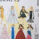 "McCalls M6232~11 1/2"" Fashion Doll Patterns"