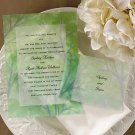 100 Translucent Trees Classic Custom Wedding Invitations