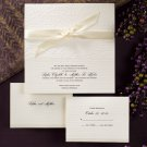 100 Simple Graceful Ecru Classic Custom Wedding Invitations