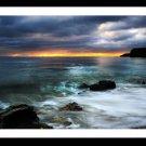 A4 Framed Landscape Print - Marsden Dawn