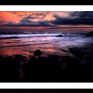 A4 Framed Landscape Print - Nightfall