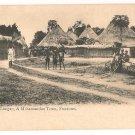 Lungay, A Mohammedan Town, Freetown Sierra Leone