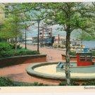River Front-Savannah Georgia Postcard