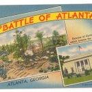 The Battle of Atlanta Georgia