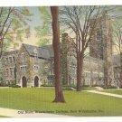 Old Main-Westminster College-New Wilmington Pennsylvania