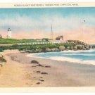 Nobska Light and Beach-Woods Hole Massachusetts
