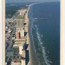 Aerial view of Myrtle Beach South Carolina Postcard