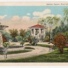 Spencer Square-Rock Island Illinois Postcard