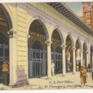 Post Office-St Petersburg Florida Postcard