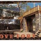 Cove Fort Utah Postcard
