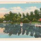 Scene in Longview Park-Rock Island Illinois Postcard