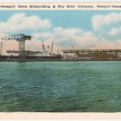 Shipbuilding and Dry Dock Co-Newport News Virginia