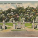Entrance to Percy Warner Park-Nashville Tennessee