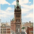 City Hall-Milwaukee Wisconsin Postcard