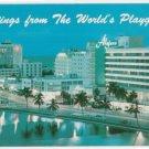 Night View of Miami Beach Florida