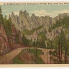 Cathedral Spires-Black Hills South Dakota Postcard