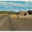 Medicine Bow National Forest Wyoming Postcard