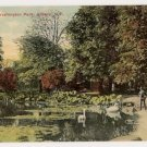 Lily Pond-Washington Park-Albany New York Postcard