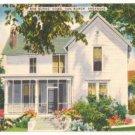 Bob Burns Home-Van Buren Arkansas Postcard