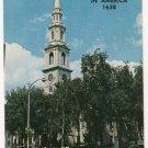 First Baptist Church-Providence Rhode Island Postcard