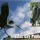 Boise Idaho Public Art Postcard