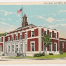 Post Office-Ravenna Ohio Postcard