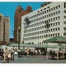 Civic Center Park-Detroit Michigan Postcard