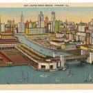 Outer Drive Bridge-Chicago Illinois Postcard