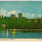 Boating in Anchorage Alaska Postcard