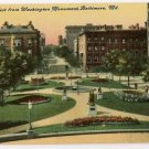 West from Washington Monument-Baltimore Maryland