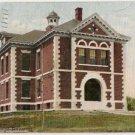 High School-Oldtown Maine Postcard