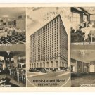 Detroit Leland Hotel-Detroit Michigan Postcard
