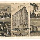 Detroit Leland Hotel-Detroit Michigan Postcard