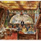 Keen's English Chop House-New York City Postcard