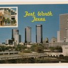 View of Fort Worth Texas Postcard