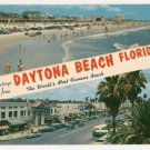 Greetings from Daytona Beach Florida Postcard
