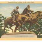 Equestrian Statue of Robert E Lee-Dallas Texas