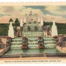 Sparks Foundation Cascades-Jackson Michigan Postcard