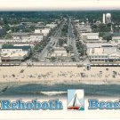 Aerial view of Rehoboth Beach Delaware Postcard