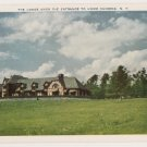Lodge over Entrance to Howe Caverns New York Postcard