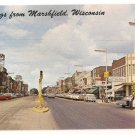 Street Scene-Marshfield Wisconsin