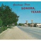 Highway 290 thru Sonora Texas